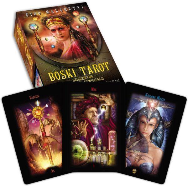 Boski tarot – książka + karty
