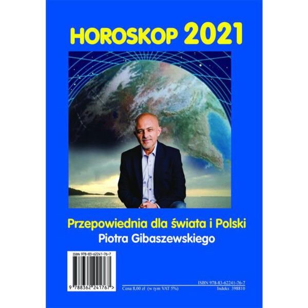 Horoskop 2021 Przepowiednia dla świata i Polski - przesyłka rejestrowana - autograf