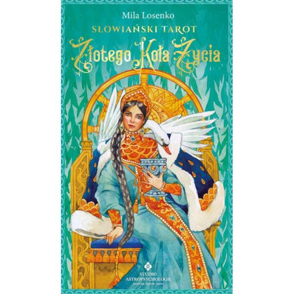Słowiański Tarot Złotego Koła Życia – 78 kart + książka