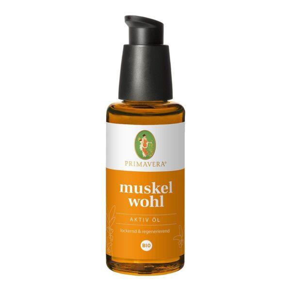 Organiczny Olejek Rozluźniający Napięcie w Mięśniach - 50 ml - Primavera