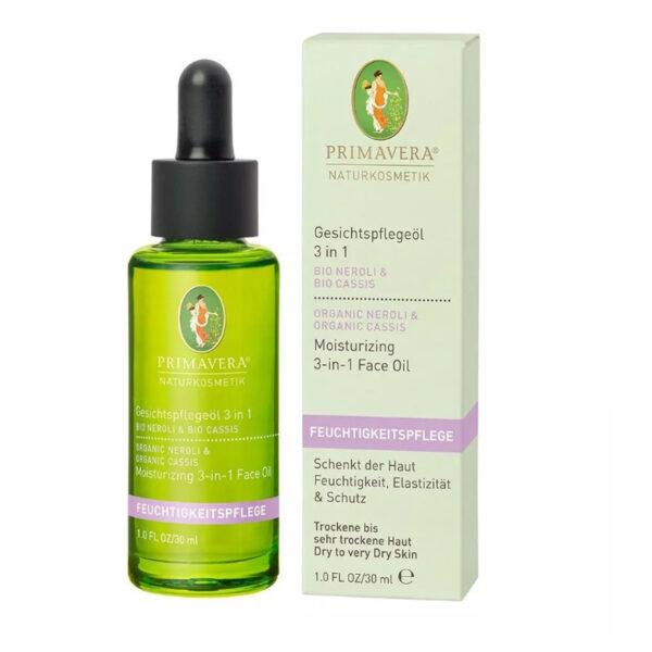 Olejek pielęgnacyjny do twarzy 3 w 1 Neroli - 30 ml - Primavera