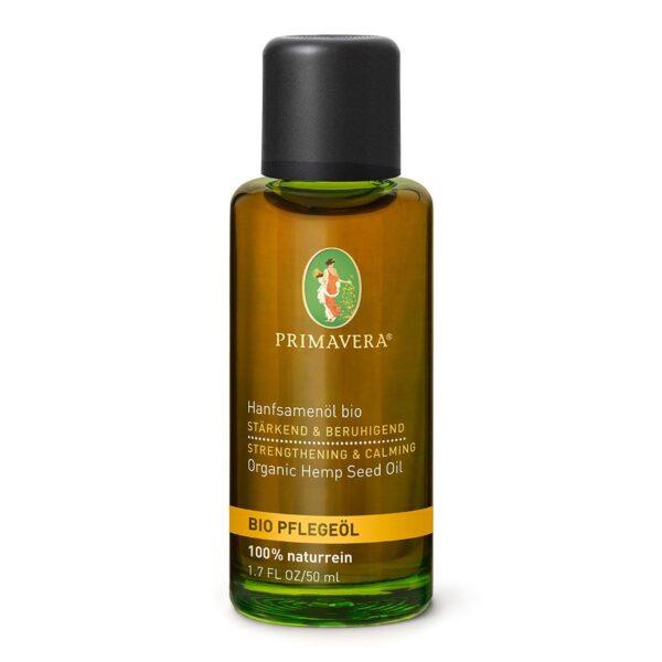 Organiczny Olejek z Nasion Konopii - 50 ml - Primavera